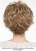 MARITA by ENVY | FROSTED | Light Brown with Wheat Blonde blended highlights