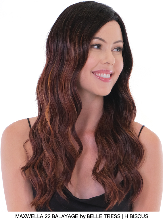 Maxwella 22 Balayage Synthetic Lace Front Wig