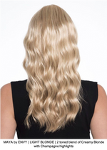 MAYA by ENVY | LIGHT BLONDE | 2 toned blend of Creamy Blonde with Champagne highlights