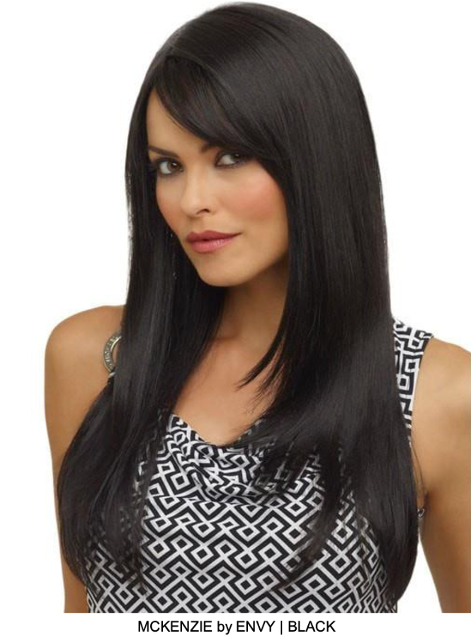 McKenzie Synthetic Wig (Mono Part)