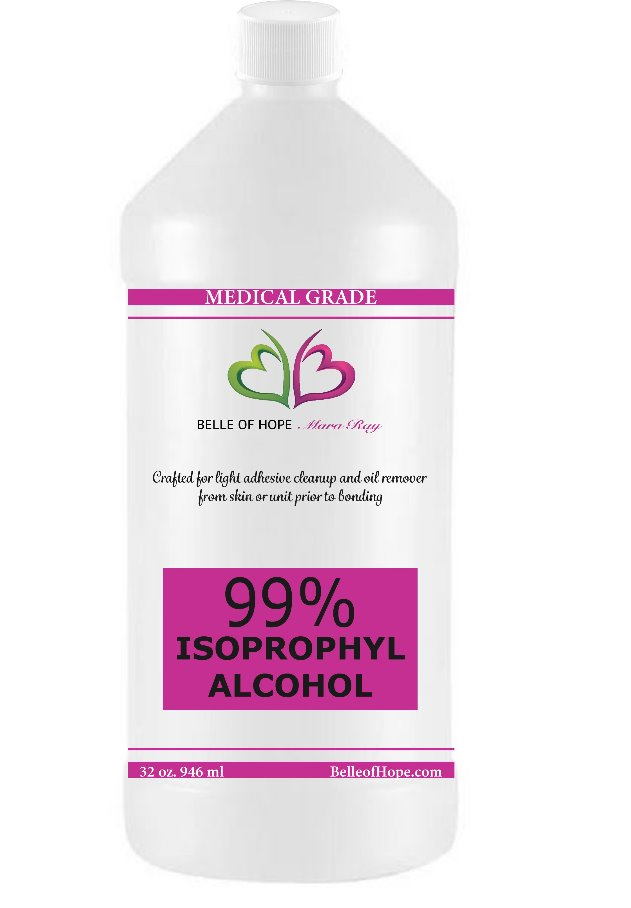 99% Isopropyl Alcohol 32oz | Medical Grade by Belle of Hope Mara Ray