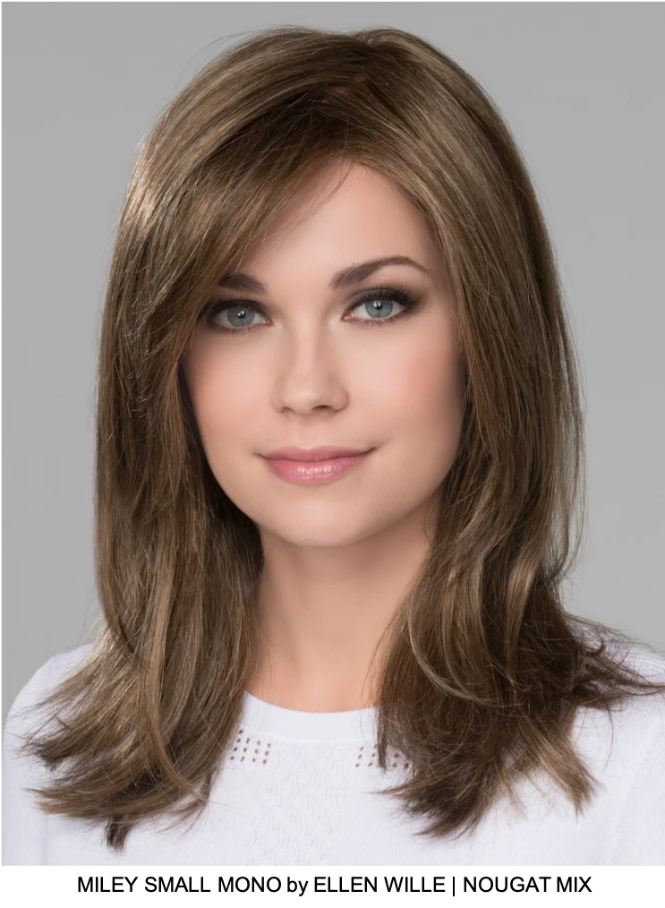 Miley Small Mono Synthetic Lace Front Wig (Mono Part)