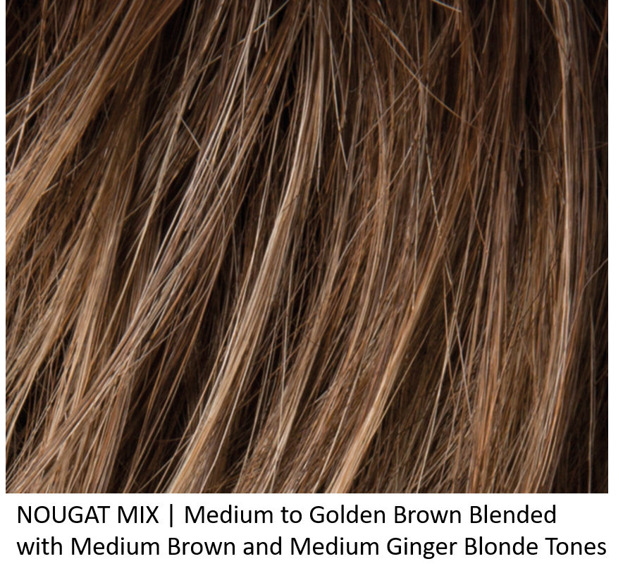 NOUGAT MIX | Medium to Golden Brown Blended with Medium Brown and Medium Ginger Blonde Tones