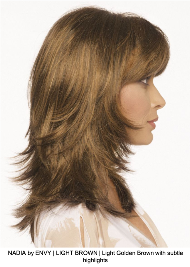 NADIA by ENVY | LIGHT BROWN | Light Golden Brown with subtle highlights