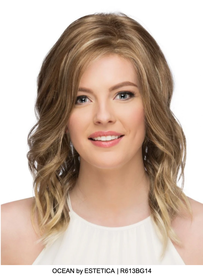 Ocean Synthetic Lace Front Wig