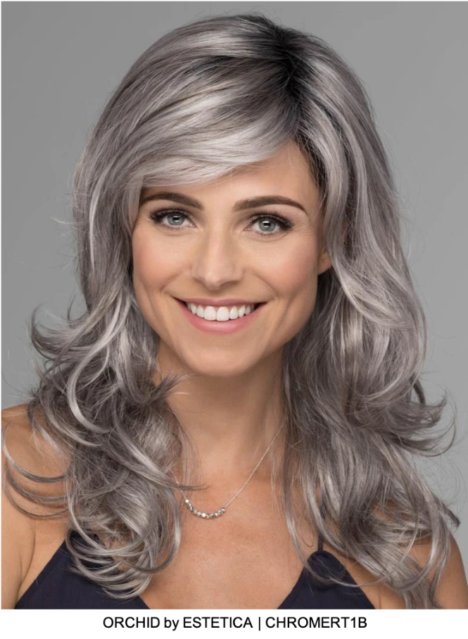 Orchid Synthetic Lace Front Wig