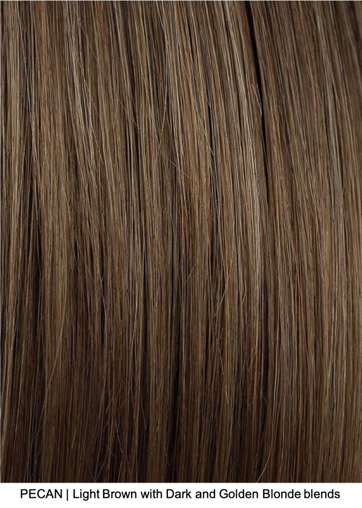 PECAN | Light Brown with Dark and Golden Blonde blends