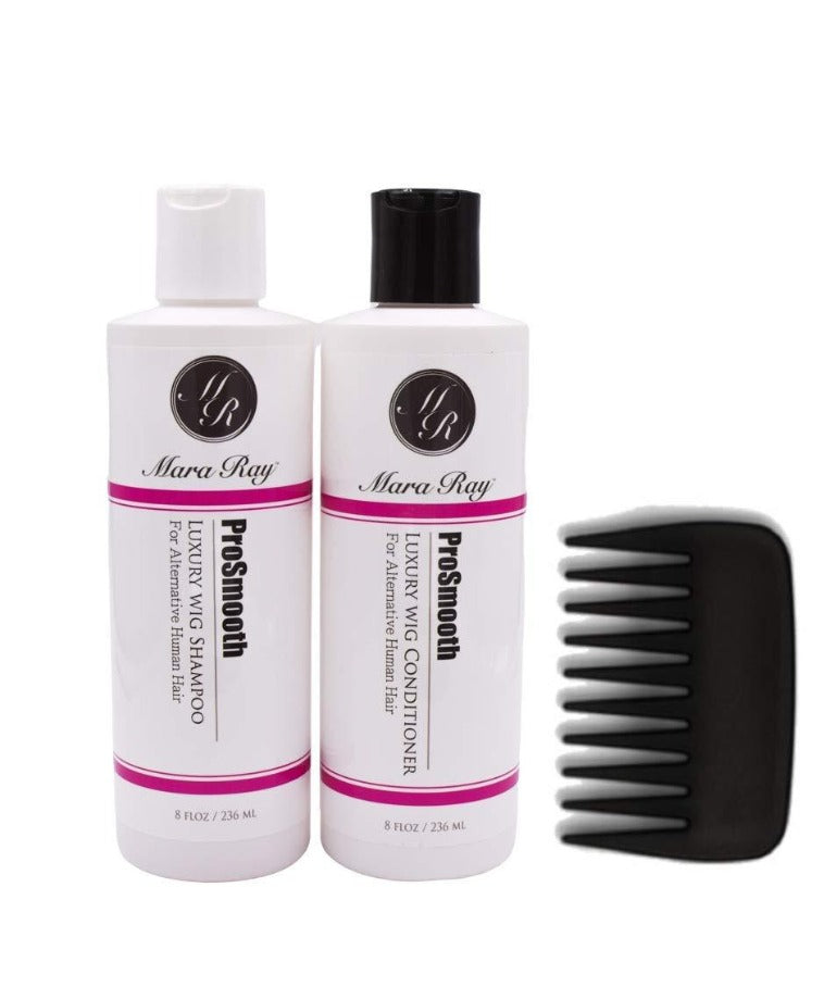 ProSmooth Luxury Alternative Human Hair Wig Care Kit