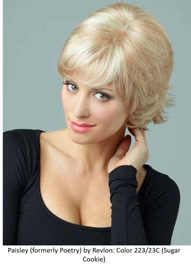 Paisley Lace Front Synthetic Wig (Mono Top) DISCONTINUED