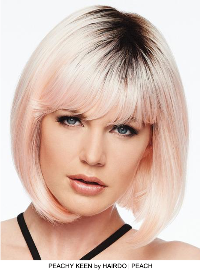 Peachy Keen HF Synthetic Wig (Basic Cap)