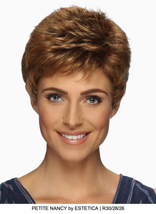 Petite Nancy Synthetic Wig (Basic Cap)
