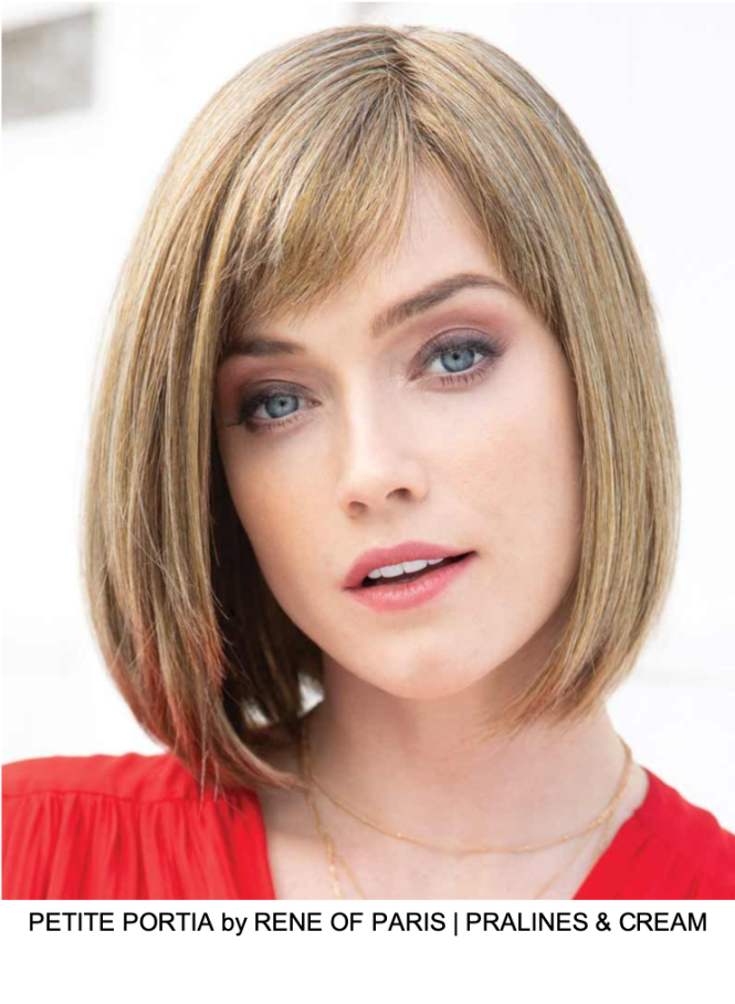 Petite Portia Synthetic Wig (Mono Part)