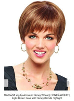 Mariana Lace Front Synthetic Wig by Amore Designs | Honey-Wheat (Discontinued)