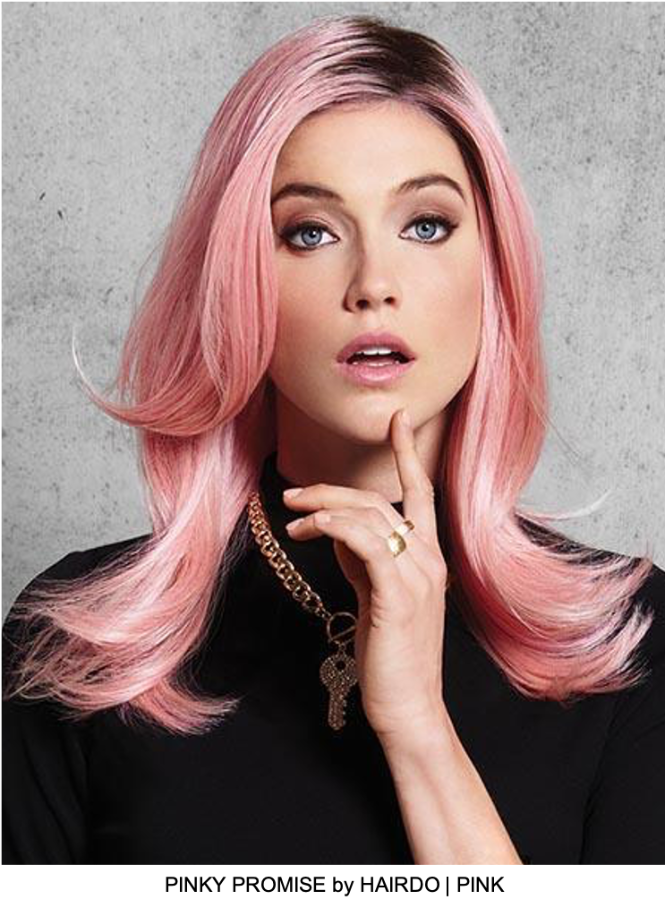 Pinky Promise HF Synthetic Wig (Basic Cap)