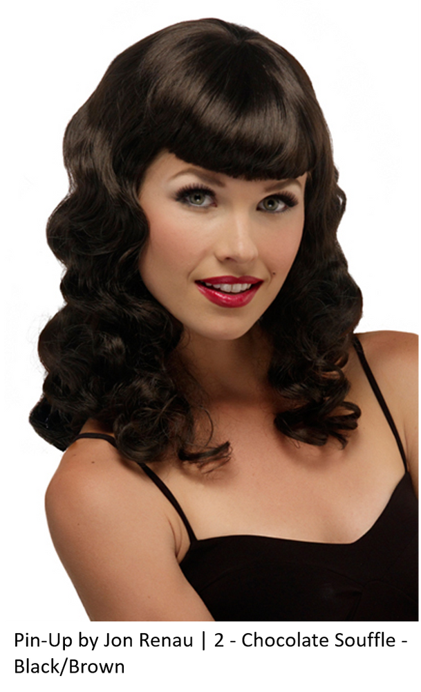 Pin-Up Synthetic Wig (Basic Cap)
