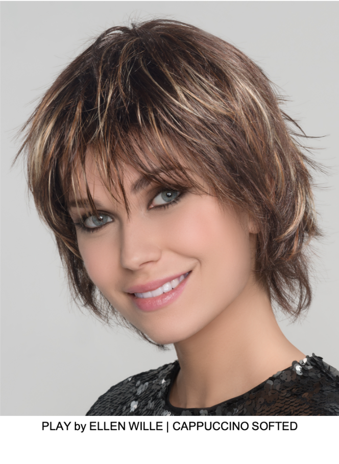 Play Short Synthetic Wig (Mono Crown) | DISCONTINUED