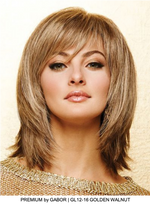 Premium Synthetic Lace Front Wig (Mono Part)