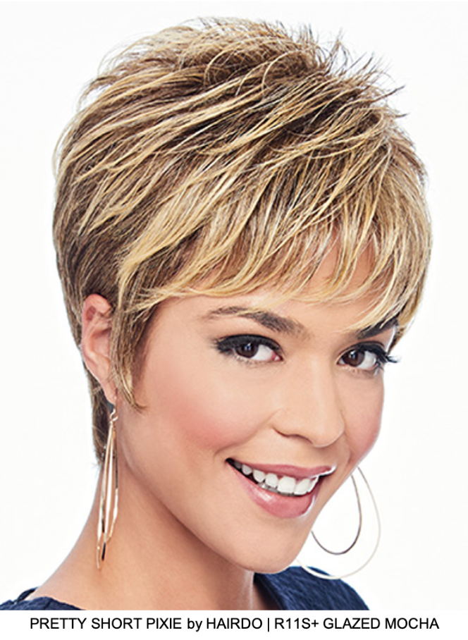 Pretty Short Pixie HF Synthetic Wig