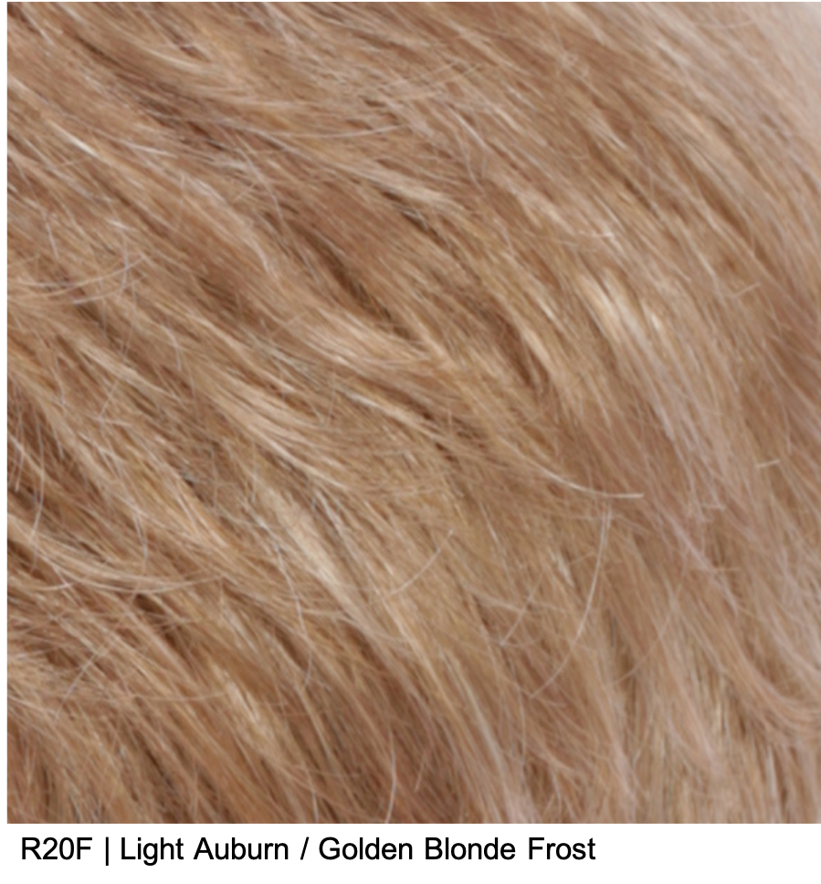 R20F | Light Auburn / Golden Blonde Frost