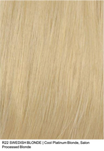 R22 SWEDISH BLONDE | Cool Platinum Blonde, Salon Processed Blonde