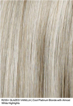 R23S+ GLAZED VANILLA | Cool Platinum Blonde with Almost White Highlights