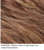 R30/28/26 | Medium Auburn/Light Auburn/Golden Blonde Blend