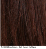 R4/33H | Dark Brown / Dark Auburn Highlights
