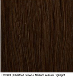 R6/30H | Chestnut Brown / Medium Auburn Highlight