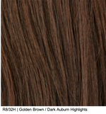 R8/32H | Golden Brown / Dark Auburn Highlights
