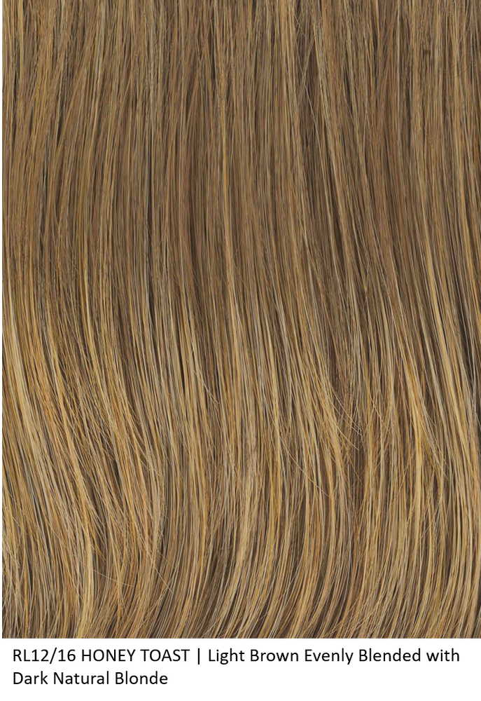 RL12/16 HONEY TOAST | Light Brown Evenly Blended with Dark Natural Blonde by Raquel Welch