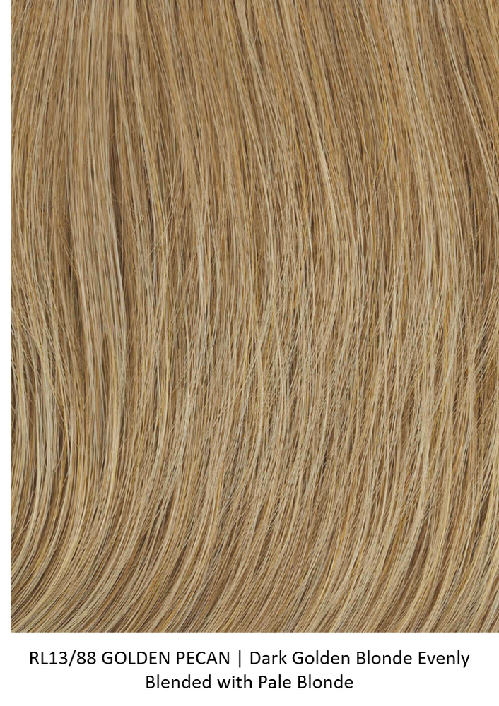 RL13/88 GOLDEN PECAN | Dark Golden Blonde Evenly Blended with Pale Blonde by Raquel Welch