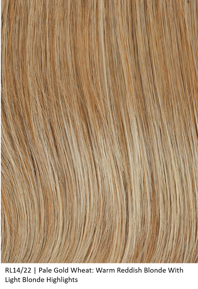 RL14/22 PALE GOLDEN WHEAT | Dark Blonde Evenly Blended with Platinum Blonde by Raquel Welch