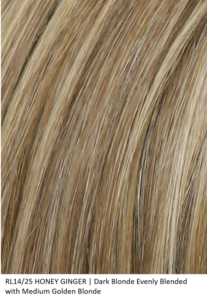 RL14/25 HONEY GINGER | Dark Blonde Evenly Blended with Medium Golden Blonde by Raquel Welch