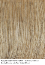 RL16/88 PALE GOLDEN HONEY | Dark Natural Blonde Evenly Blended with Pale Golden Blonde by Raquel Welch