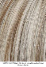 RL19/23 BISCUIT | Light Ash Blonde Evenly Blended with Cool Platinum Blonde by Raquel Welch