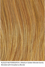 RL25/27 BUTTERSCOTH | Medium Golden Blonde Evenly Blended with Strawberry Blonde
