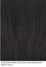 RL4/6 BLACK COFFEE | Dark Brown Evenly Blended with Medium Brown by Raquel Welch