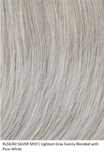 RL56/60 SILVER MIST | Lightest Grey Evenly Blended w/ Pure White by Raquel Welch