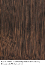 RL6/30 COPPER MAHOGANY | Medium Brown Evenly Blended with Medium Auburn by Raquel Welch