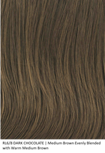 RL6/8 DARK CHOCOLATE | Medium Brown Evenly Blended with Warm Medium Brown by Raquel Welch