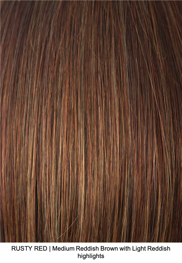 RUSTY RED | Medium Reddish Brown with Light Reddish highlights