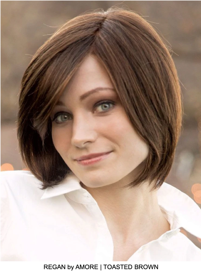Regan Synthetic Wig (Mono Top)