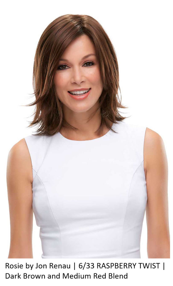 Rosie Synthetic Lace Front Wig (Mono Top)