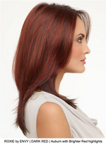 ROXIE by ENVY | DARK RED | Auburn with Brighter Red highlights