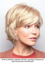RYAN by NORIKO | CREAMY TOFFEE | Light Platinum Blonde and Light Honey Blonde evenly blended