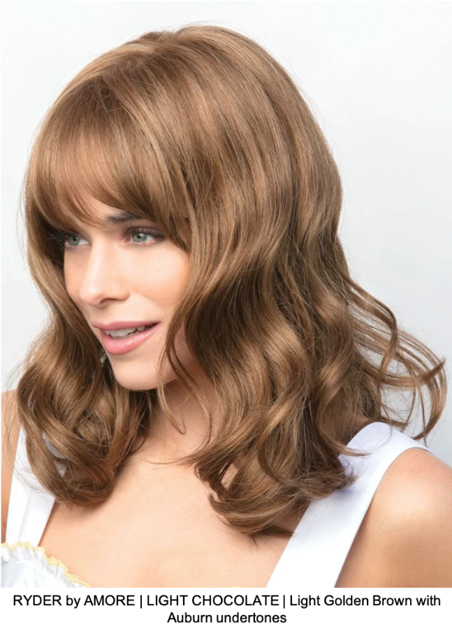 RYDER by AMORE | LIGHT CHOCOLATE | Light Golden Brown with Auburn undertones