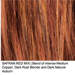SAFRAN RED MIX | Blend of intense Medium Copper, Dark Rust Blonde and Dark Natural Auburn