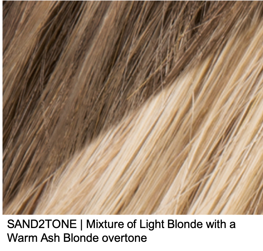 SAND2TONE | Mixture of Light Blonde with a Warm Ash Blonde overtone