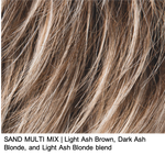 SAND MULTI MIX | Light Ash Brown, Dark Ash Blonde, and Light Ash Blonde blend