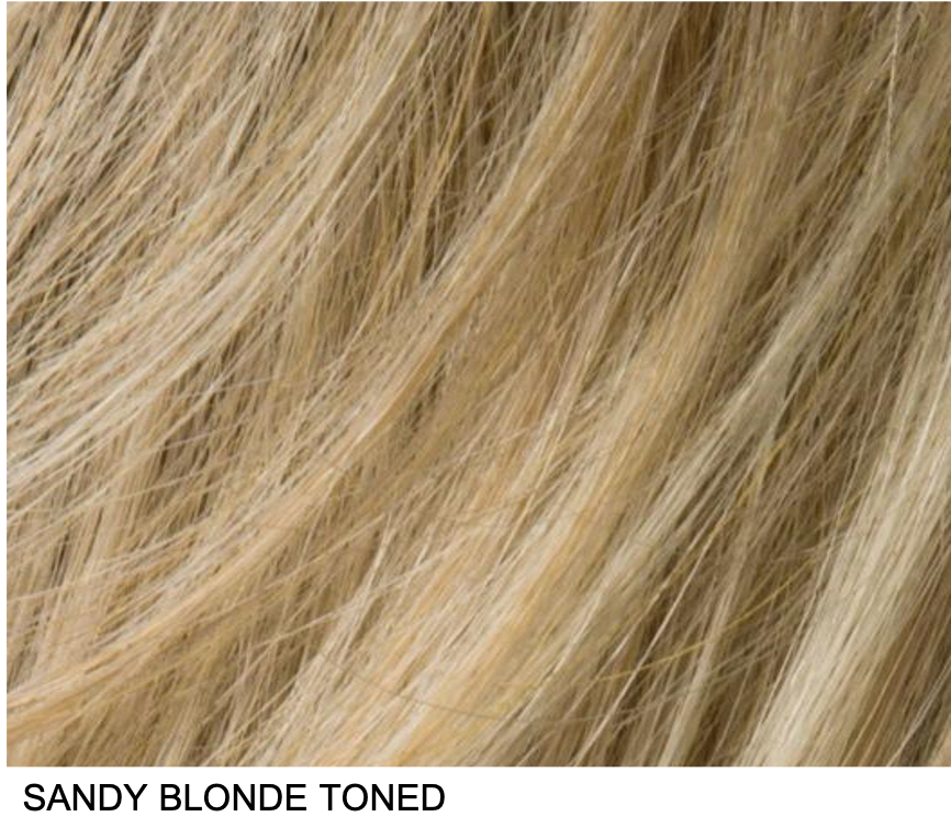 SANDY BLONDE TONED